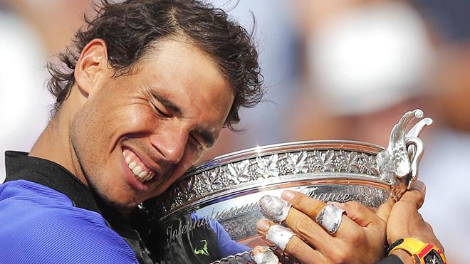 Nadal giờ đã hoàn toàn lột xác, chẳng e ngại bất cứ ai