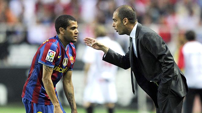 Dani Alves sẽ là bản nâng cấp đáng kể cho Man City của Pep Guardiola