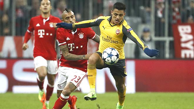 Alexis Sanchez là thùng thuốc súng nếu tới Bayern Munich