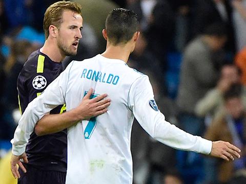 Harry Kane và Ronaldo đã có một ngày 'song tấu' ở Bernabeu