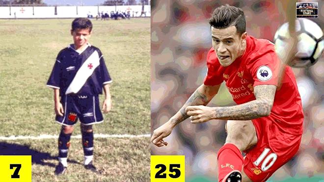 Coutinho: Cậu Philippinho bé nhỏ thành danh từ bóng đá trong nhà