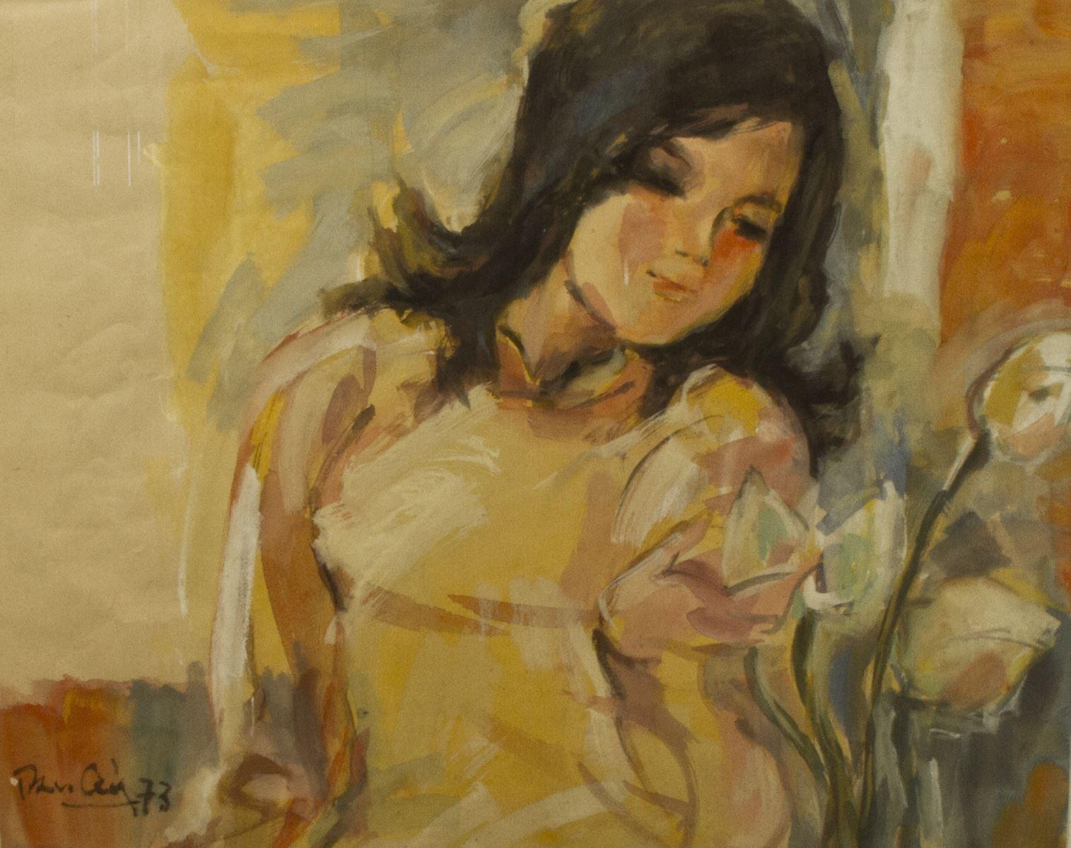 """ức """"Tình yêu đầu tiên"""" của Trần Văn Cẩn được mua với giá gần 1 tỷ"""