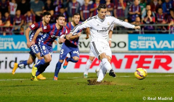 BIG BET: Dự đoán và tỉ lệ trận Real Madrid - Eibar (01h45, 23/10)