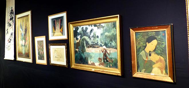 Chiêm ngưỡng bức tranh hơn 12 tỷ đồng của Lê Phổ đấu giá tại Pháp