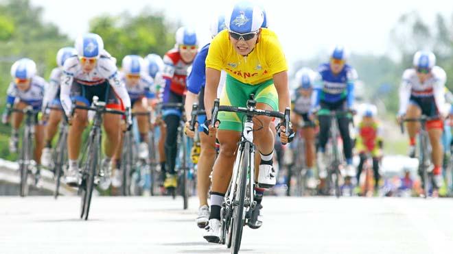 Nguyễn Thị Thật lập cú đúp danh hiệu ở Giải đua xe đạp nữ toàn quốc mở rộng 2017