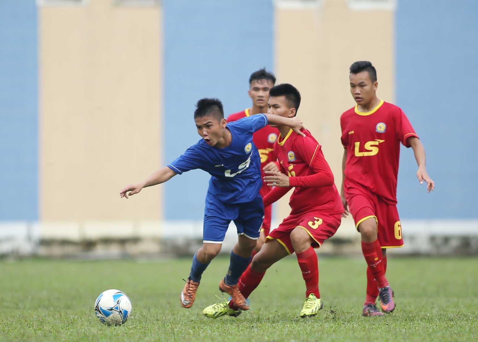 HAGL đuổi kịp PVF đầy kịch tính ở VCK U17 QG - Cúp Thái Sơn Nam 2017