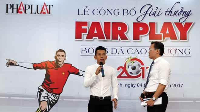 Anh Khoa rớt nước mắt trong ngày phát động giải Fair Play 2017