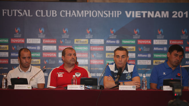 Thái Sơn Nam đặt mục tiêu có huy chương ở giải futsal các CLB châu Á 2017