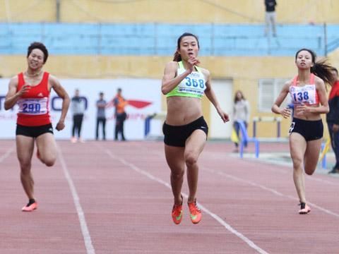 Lê Tú Chinh là một trong những hy vọng lớn nhất cho điền kinh Việt Nam tại SEA Games 29. Ảnh: L.G