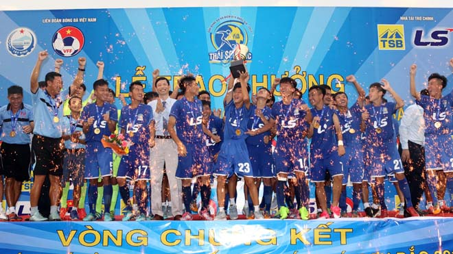 Hạ Viettel, PVF lên ngôi ở giải U15 QG - Cúp Thái Sơn Bắc 2017