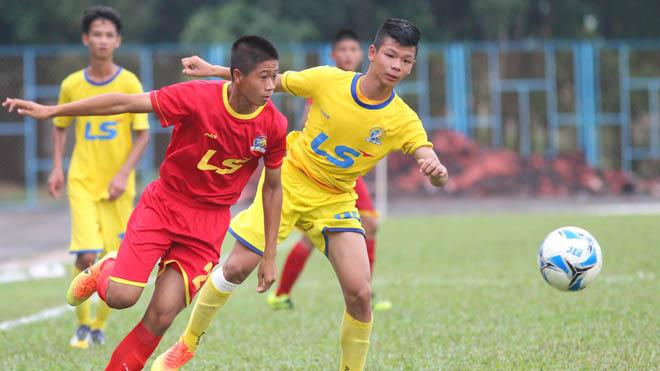 VCK U15 QG - Cúp Thái Sơn Bắc 2017:  Viettel vào chung kết trong nước mắt của SLNA