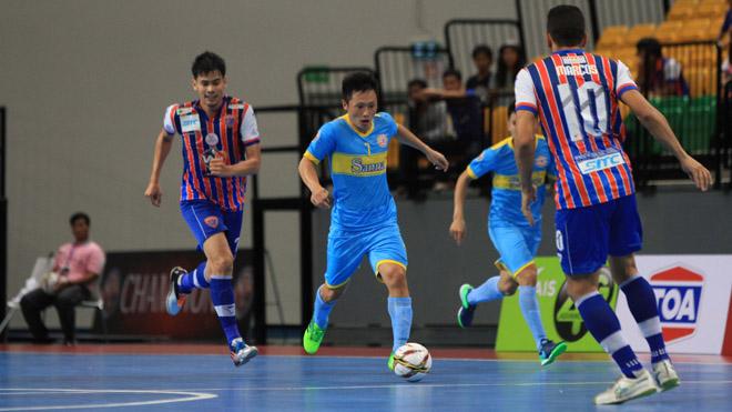 Futsal Việt Nam thất bại ở chung kết giải CLB Đông Nam Á 2017