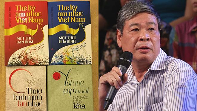 Nguyễn Thụy Kha 27 năm 'áo gấm đi đêm' vì 'Những tài danh âm nhạc Việt Nam'