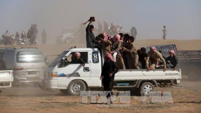 Khủng bố IS thất thế ở thành trì Raqqa, Syria