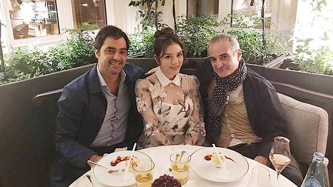 Lý Nhã Kỳ hợp tác làm phim cùng chồng cũ Trương Mạn Ngọc