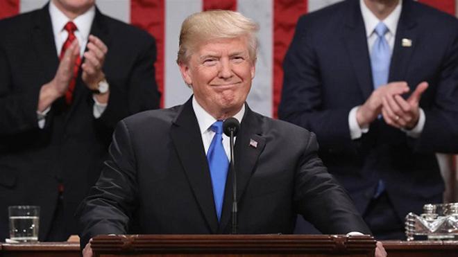 Phản ứng của người Mỹ về Thông điệp Liên bang đầu tiên của Tổng thống Trump