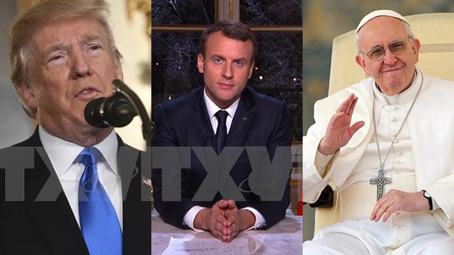 Nghe THÔNG ĐIỆP NĂM MỚI 2018 của các nhà lãnh đạo thế giới