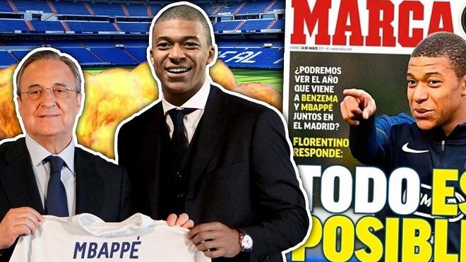 Mbappe tuyên bố chỉ muốn tới Real trước tin đồn Ronaldo sẽ rời Bernabeu