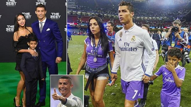 Lộ bằng chứng Cristiano Ronaldo sắp có đứa con thứ tư