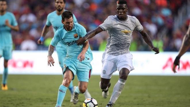 Mourinho: 'Trình của Pogba ở tầm Neymar, Ronaldo và Messi'