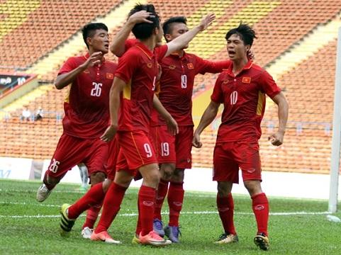 Video clip highlights bàn thắng trận U22 Việt Nam 0-0 U22 Indonesia