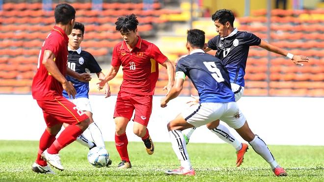Trận Việt Nam thắng Campuchia tại SEA Games 29 nằm trong nghi án bán độ