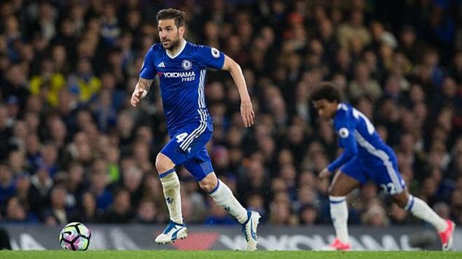 Cesc Fabregas thật siêu đẳng. Chelsea may mắn vì có anh