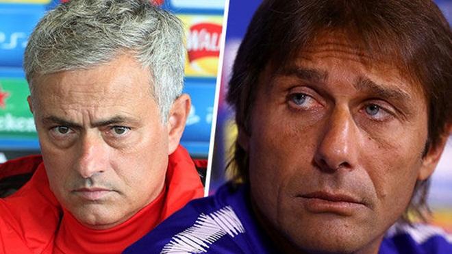 Hiếm khi nào Mourinho và Conte lại chung quan điểm như thế này