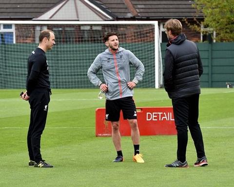 Adam Lallana sắp trở lại thi đấu cho Liverpool