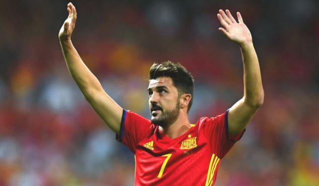 Vừa trở lại đội tuyển, David Villa phải nghỉ đấu vì chấn thương