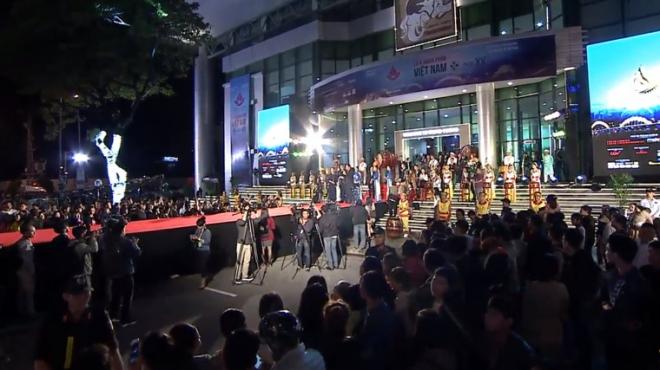 XEM TRỰC TIẾP: Lễ khai mạc Liên hoan phim Việt Nam 2017