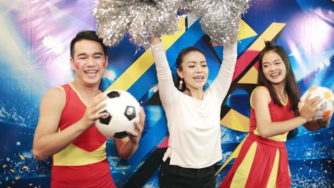 Điệu 'Lambada Việt' thúc giục cầu thủ ghi bàn tại SEA Games 29