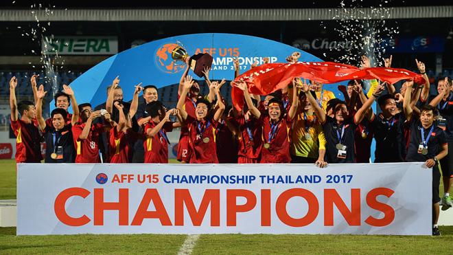 VFF thưởng U15 Việt Nam 400 triệu đồng