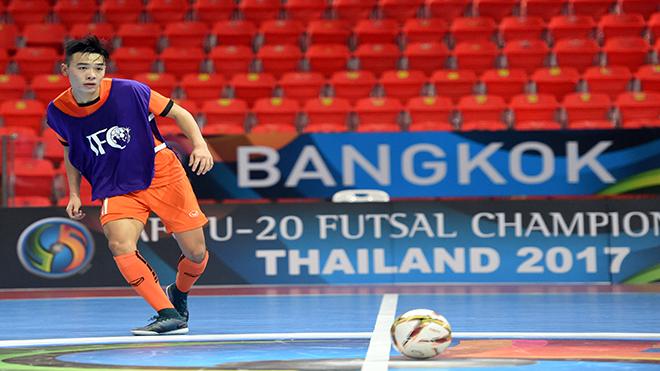 U20 futsal châu Á 2017: Việt Nam xuất trận gặp Tajikistan