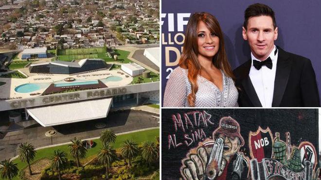 Vì sao Messi thuê đội đặc nhiệm Israel để bảo vệ đám cưới gần khu ổ chuột?