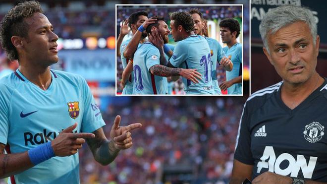 Mourinho: 'Thua Barca là tốt'. Valverde: 'Tôi muốn tránh M.U ở Champions League'