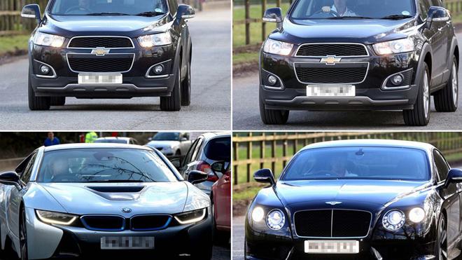 Sao Man United khoe dàn siêu xe 'khủng' ngày trước thềm trận gặp Tottenham