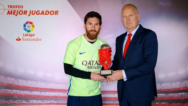 Vì sao Messi mới lần thứ hai nhận danh hiệu cầu thủ hay nhất tháng của Liga?