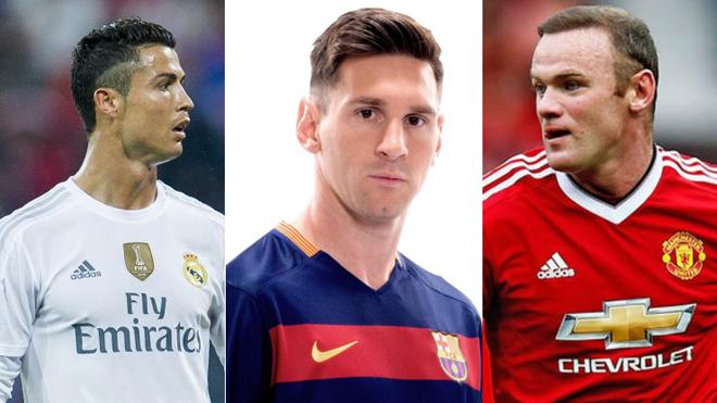 Wayne Rooney: 'Ronaldo hoặc Messi mới phá được kỷ lục của tôi'