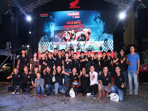 Cuồng nhiệt cùng giải đua MotoGP tại thành phố Hải Phòng