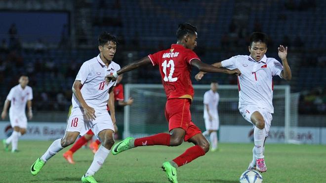 U18 Myanmar 2-1 U18 Việt Nam: Thủ môn hớ hênh biếu U18 Myanmar tấm vé vào bán kết