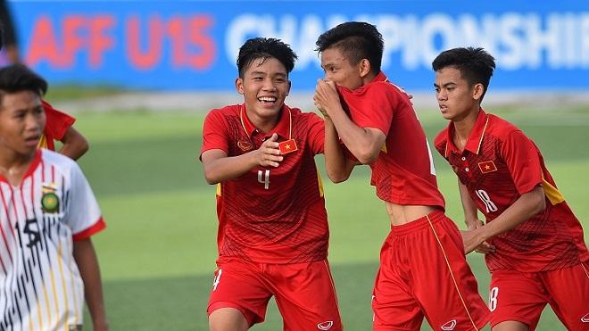 U15 Việt Nam thắng trận thứ 2 liên tiếp tại giải U15 ĐNA 2017
