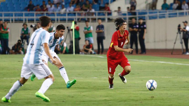 Công Phượng, Tuấn Anh 'mất tích', U22 Việt Nam thua đậm U20 Argentina