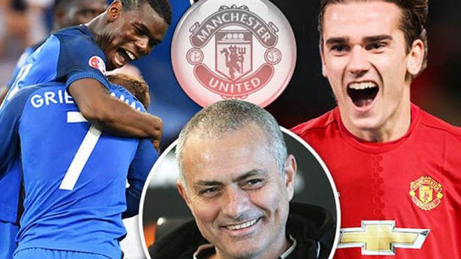 TIN HOT M.U 10/09: Mourinho bảo vệ Phil Jones, để dành áo số 7 cho Griezmann, quyết mua Lemar