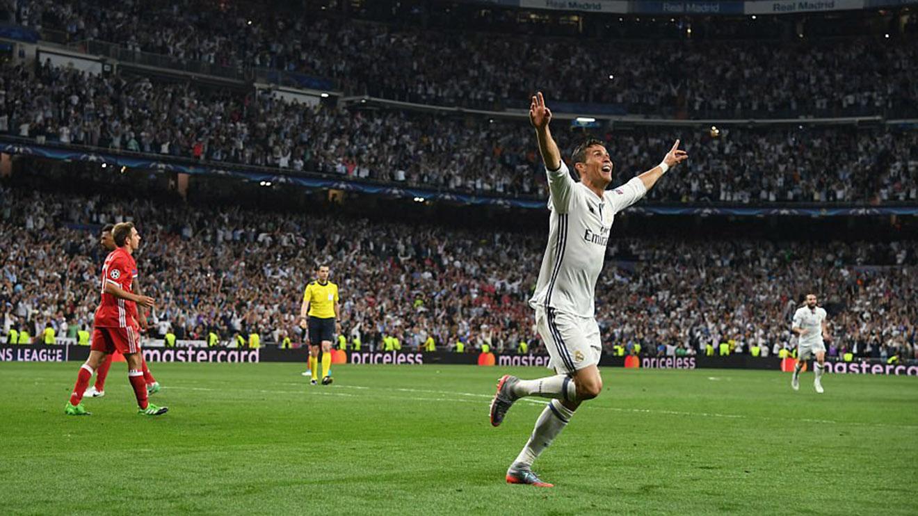 ĐIỂM NHẤN Real Madrid 4-2 Bayern Munich: Hat-trick gây tranh cãi của Ronaldo, và tấm thẻ đỏ của Vidal