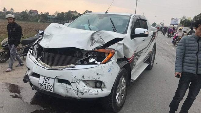 Truy tìm tài xế xe bán tải gây tai nạn làm hai học sinh tử vong rồi bỏ chạy
