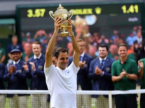 TENNIS ngày 24/7: Sự phi thường của Federer dưới góc nhìn khoa học. Nadal bị đánh giá thấp hơn Federer