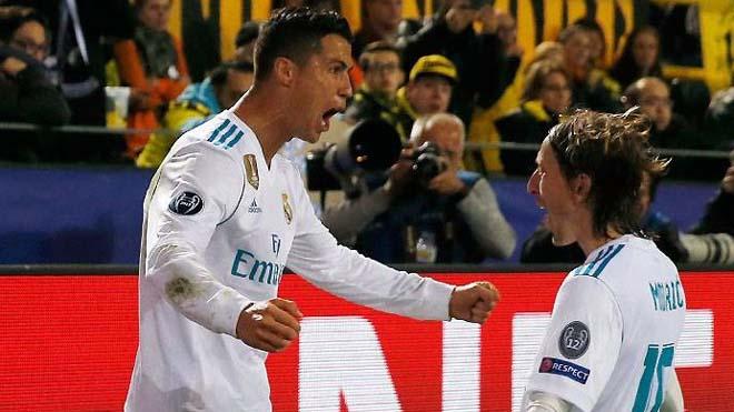 Benzema-Ronaldo rực sáng, Real đi tiếp với ngôi nhì bảng, có nguy cơ gặp đội lớn
