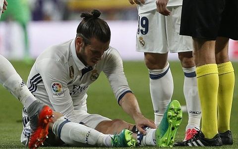 Bale tiếp tục khổ sở vì chấn thương