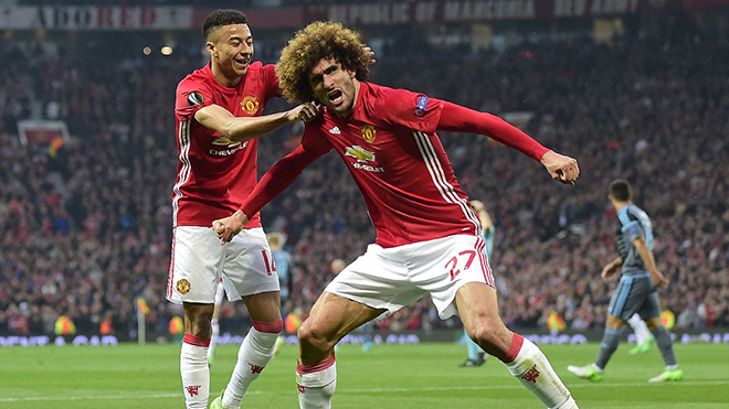 Cận cảnh bàn thắng, tình huống trận Man United 1-1 Celta Vigo
